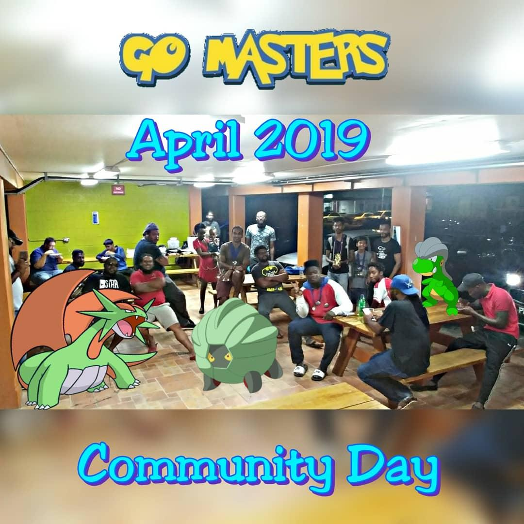 GoMasters April 13th Bagon Community Day Meetup
