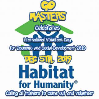 GOMasters Habitat for Humanity